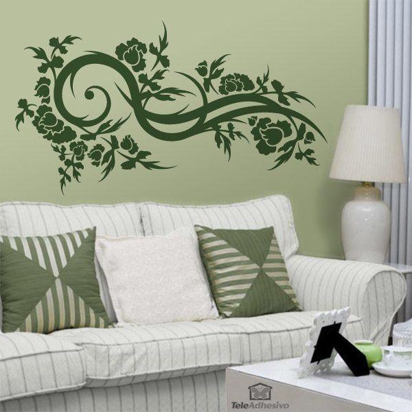 Wandtattoos: Floral 139