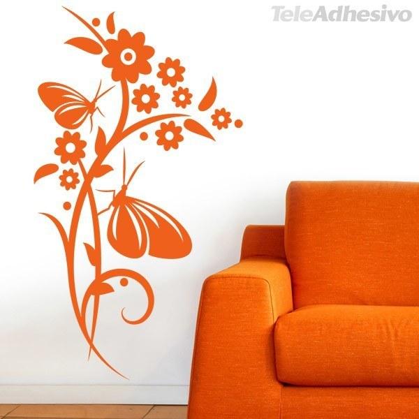 Wandtattoos: Floral 151