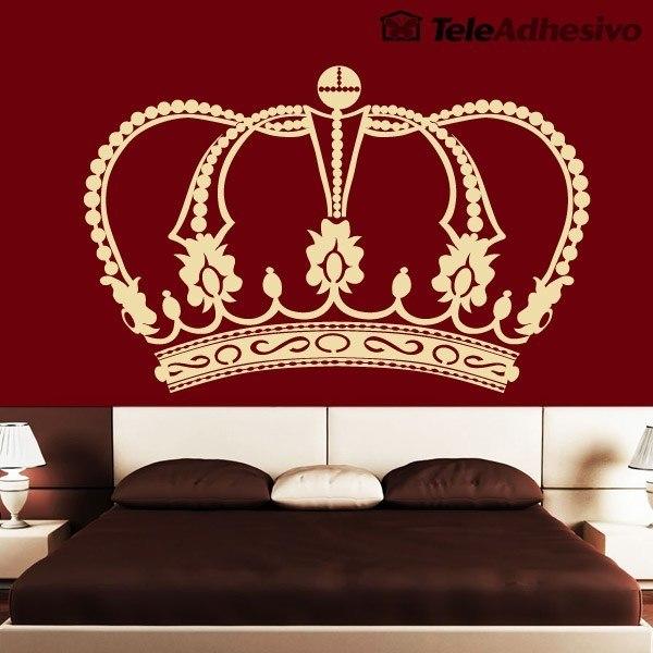 Wandtattoos: Crown