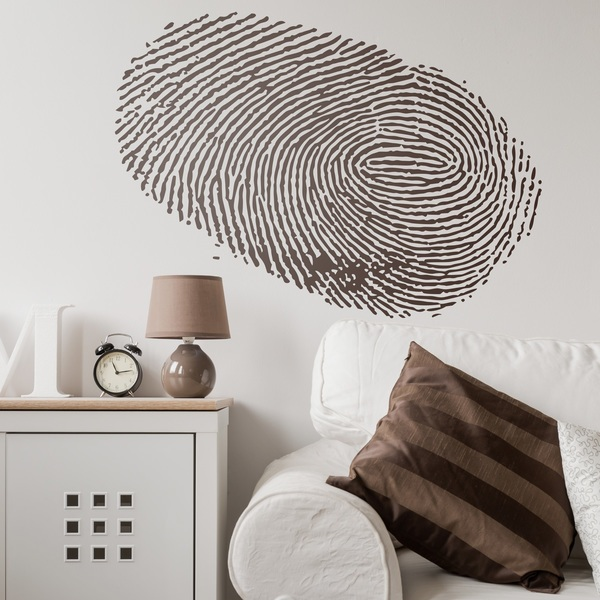 Wandtattoos: Fingerprint