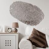 Wandtattoos: Fingerprint 0