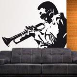 Wandtattoos: Trompeter 2
