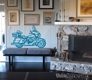Wandtattoos: Harley 2