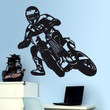 Wandtattoos: Moto Cross 2