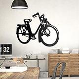 Wandtattoos: Motorized Bike 0
