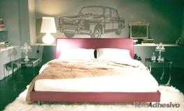 Wandtattoos: Renault 8 2