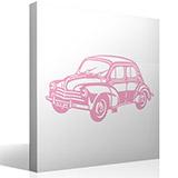 Wandtattoos: Renault 4/4 3