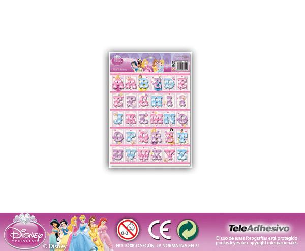 Kinderzimmer Wandtattoo: Prinzessinnen Briefe 24x34 cm