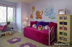 Kinderzimmer Wandtattoo: Giraffe 1