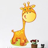 Kinderzimmer Wandtattoo: Giraffe 6