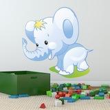 Kinderzimmer Wandtattoo: Elefant 0