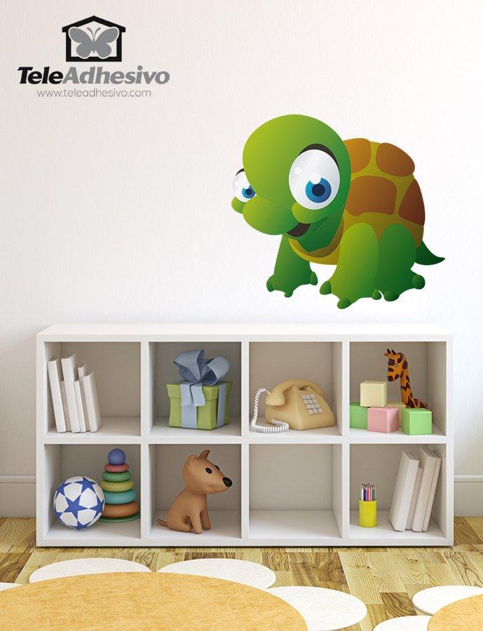 Kinderzimmer Wandtattoo: Turtle