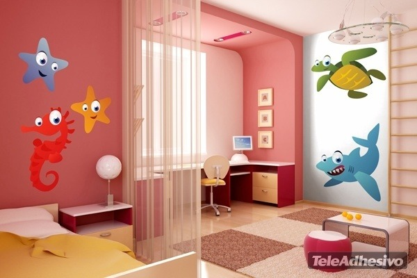 Kinderzimmer Wandtattoo: Shark