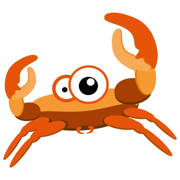 Kinderzimmer Wandtattoo: Crab