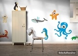 Kinderzimmer Wandtattoo: Crab 3