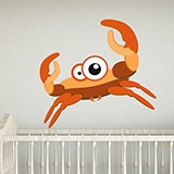 Kinderzimmer Wandtattoo: Crab 4