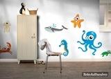 Kinderzimmer Wandtattoo: Seahorses 1