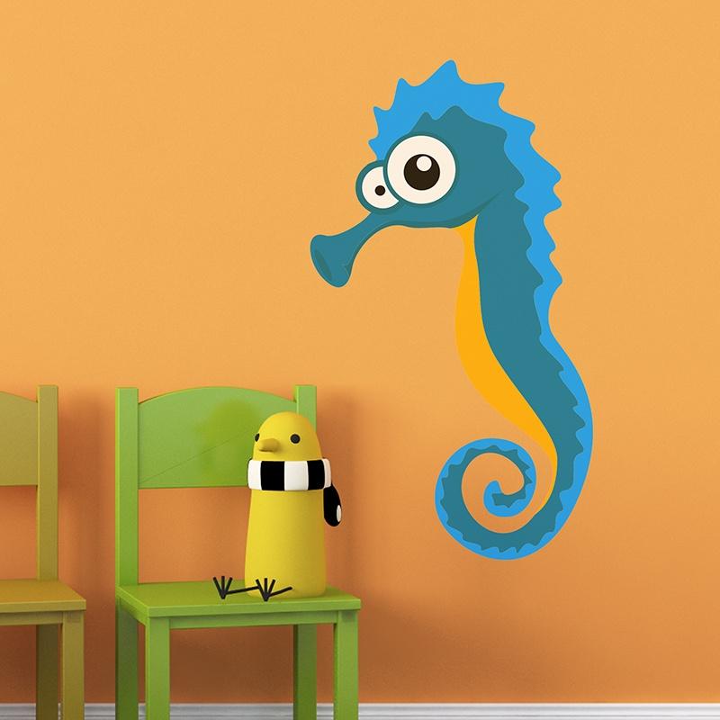 Kinderzimmer Wandtattoo: Seahorses