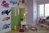 Kinderzimmer Wandtattoo: Octopus 3