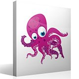 Kinderzimmer Wandtattoo: Octopus 4