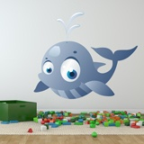 Kinderzimmer Wandtattoo: Whale 5