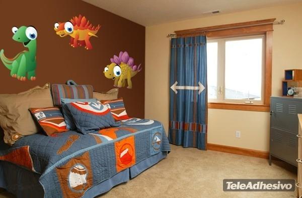 Kinderzimmer Wandtattoo: Dino 11