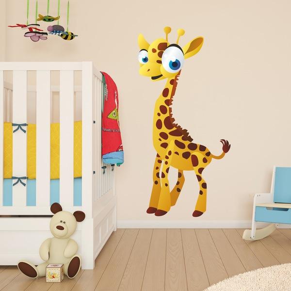 Wandtattoo Kinder Giraffe Webwandtattoo Com