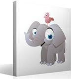 Kinderzimmer Wandtattoo: Elephant 4