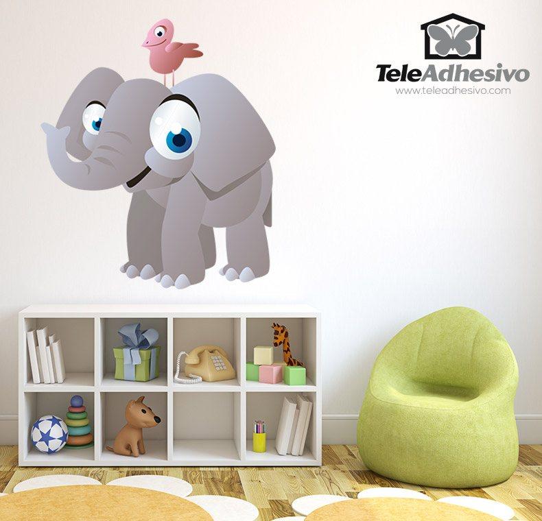 Kinderzimmer Wandtattoo: Elephant