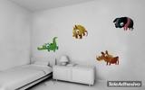 Kinderzimmer Wandtattoo: Coco 3