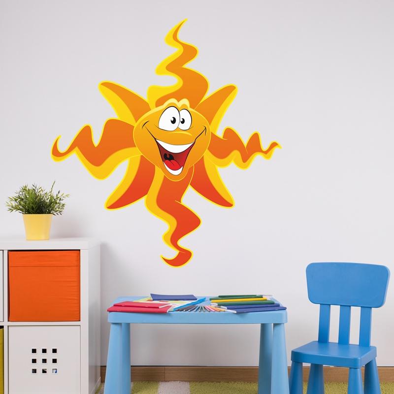 Kinderzimmer Wandtattoo: Sonne