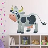 Kinderzimmer Wandtattoo: Cow 4