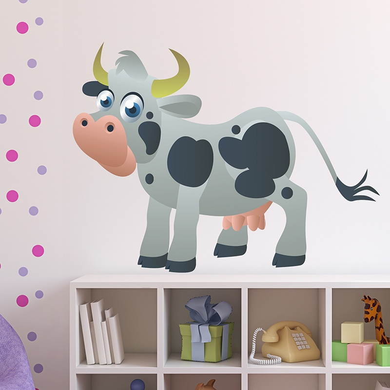 Kinderzimmer Wandtattoo: Cow