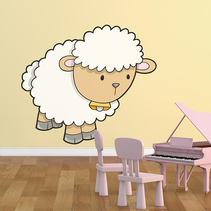 Kinderzimmer Wandtattoo: Sheep