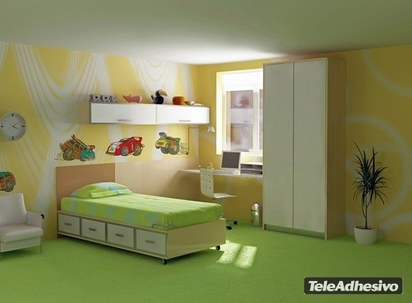 Kinderzimmer Wandtattoo: Car 2