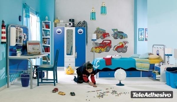 Kinderzimmer Wandtattoo: Car 3