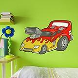 Kinderzimmer Wandtattoo: Car 3 4