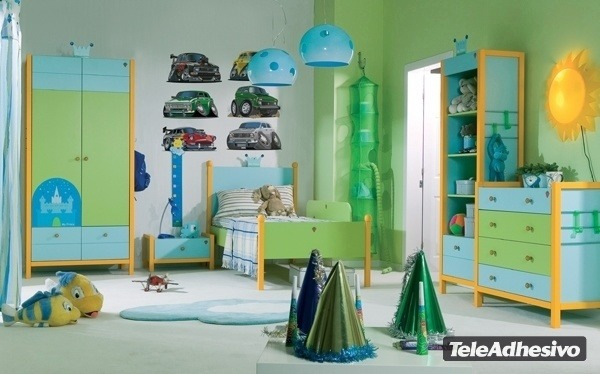 Kinderzimmer Wandtattoo: Car 4