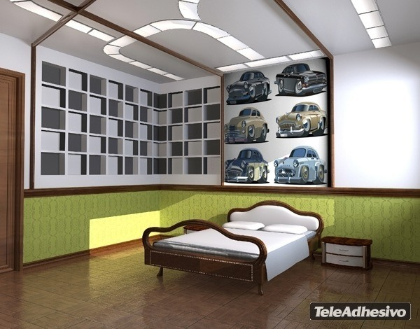 Kinderzimmer Wandtattoo: Car 5