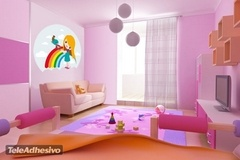 Kinderzimmer Wandtattoo: Girl 1