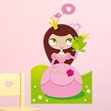Kinderzimmer Wandtattoo: Princess and Toad 4