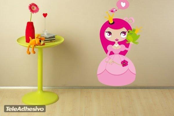 Kinderzimmer Wandtattoo: Princess