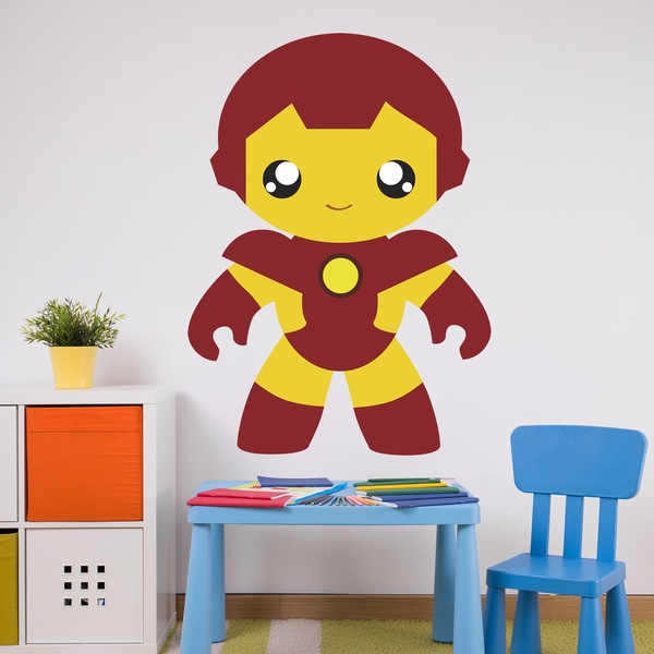 Kinderzimmer Wandtattoo: Iron man