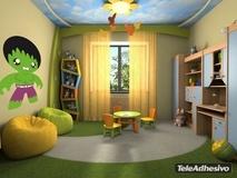 Kinderzimmer Wandtattoo: Grüne Mann 3
