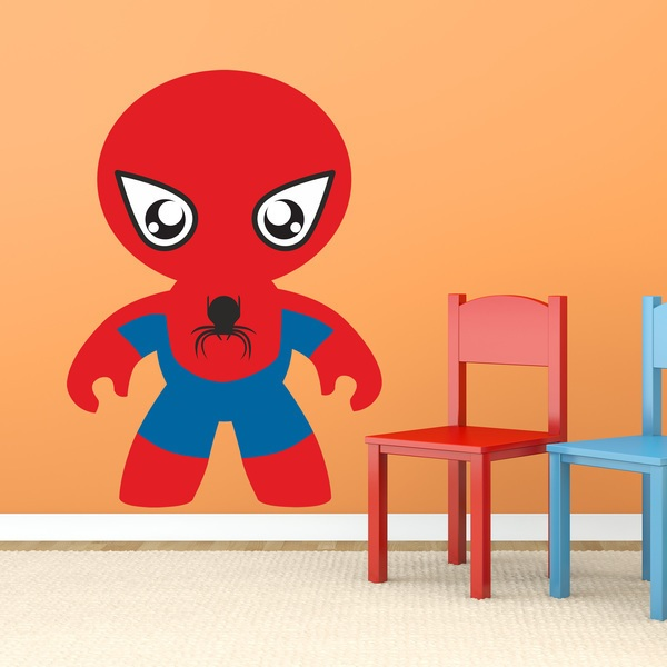 Kinderzimmer Wandtattoo: Kind Spiderman