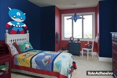 Kinderzimmer Wandtattoo: Man A 3