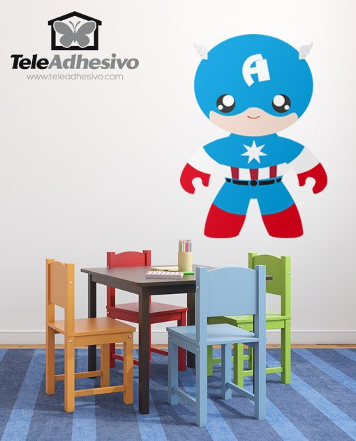 Kinderzimmer Wandtattoo: Man A