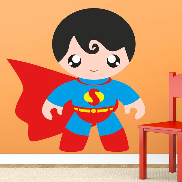 Kinderzimmer Wandtattoo: Superman Kind