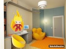 Kinderzimmer Wandtattoo: Fire Man 3