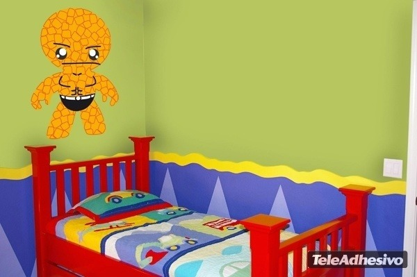 Kinderzimmer Wandtattoo: Rock Man